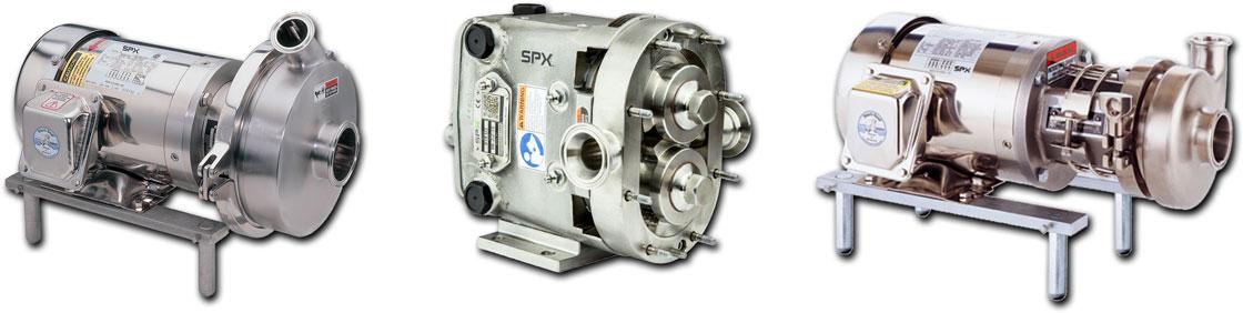 SPX Waukesha pumps